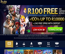 Click Here to Claim R100.00 Free at 24VIP Casino
