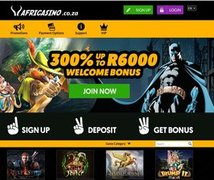New South African Online Casino - AfriCasino