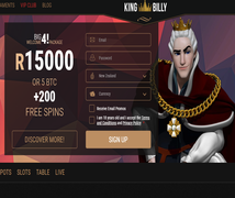 Click Here to Claim Your Welcome Bonus and Free Spins at King Billy Casino