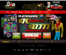 Play in Rands at Slots Capital Casino